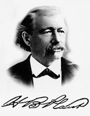 Henry B. Plant portrait and signature